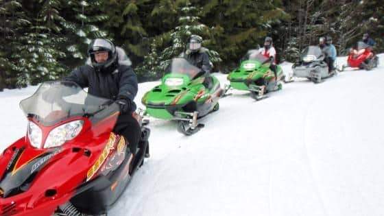 Truckee Tahoe Snowmobiling Tours